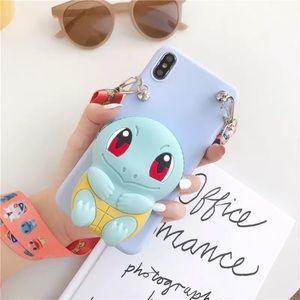 Accessories - 3D Pokemon Zipper Wallet soft Phone cover